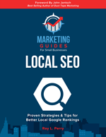 Marketing Guides- Local SEO book cover.