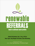 Renewable Referrals book cover.