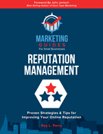 Marketing Guides- Reputation Management book cover.