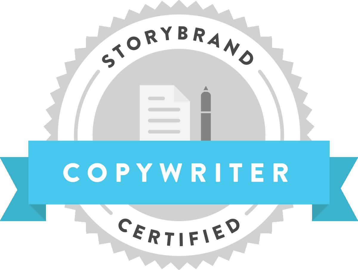StoryBrand Certified Copywriter