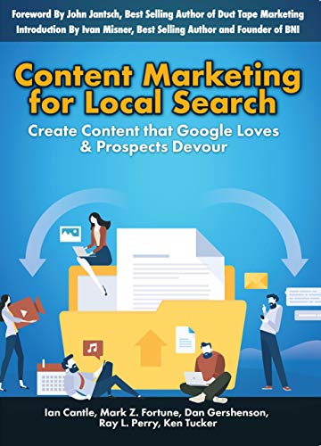 Content Marketing for Local Search book cover.